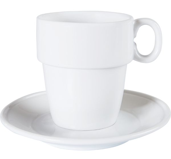 Coffee Mug Stacking (84x84x93mm) 300cc